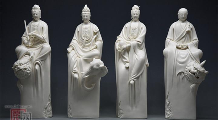 """德化陶瓷作品在""""百鹤杯""""大赛中取得佳绩"""